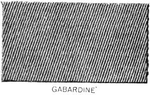 Gabardine