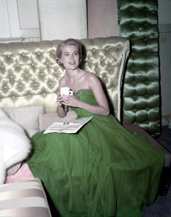 Happy St. Patrick's Day from Grace Kelly